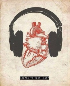 heart is talking, are you listening